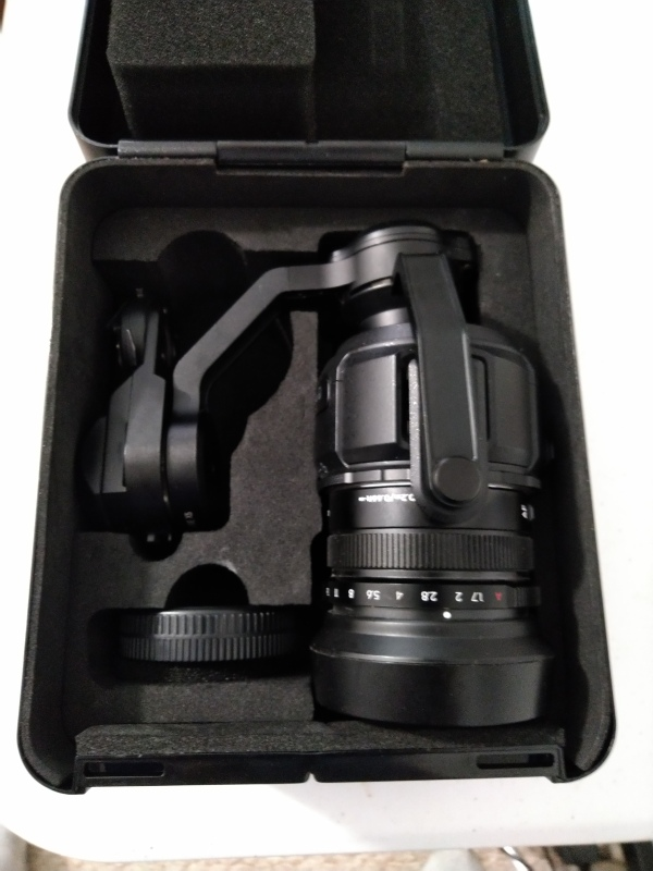 DJI Zenmuse X5 Camera and 3-axis Gimbal with DJI 15mm f/1.7 Lens Image #1