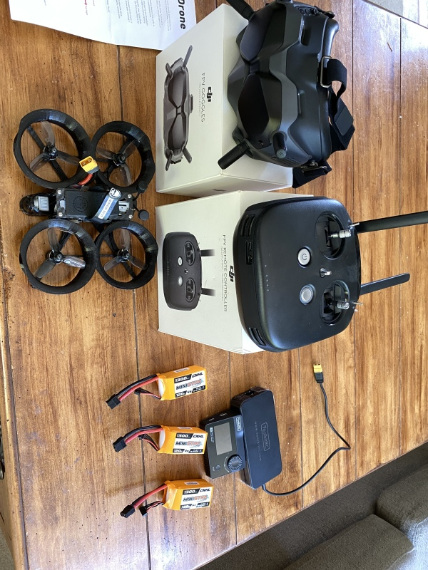 Rotor Riot custom Cinewhoop with DJI FPV system Image #1