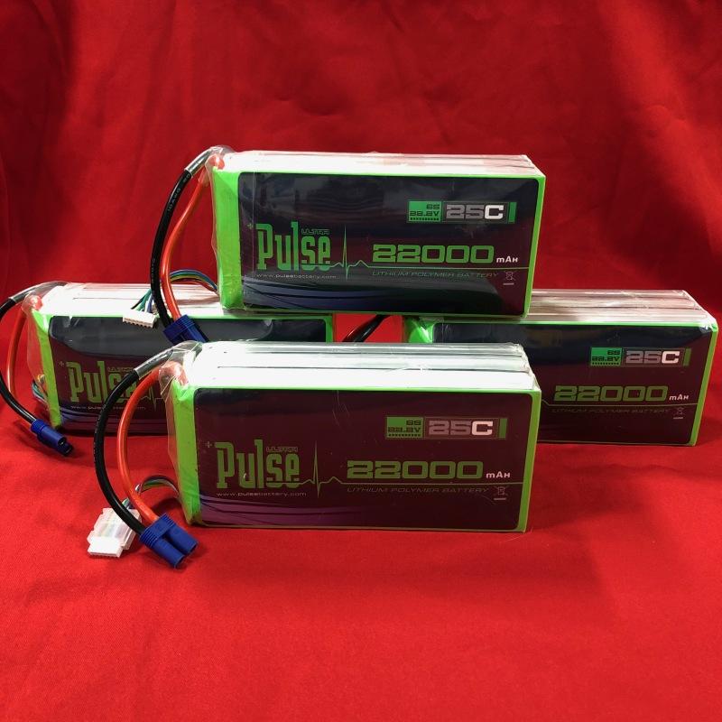 PULSE ULTRA 22000mAh 6S 22.2V 25C LiPo Drone Battery Batteries Image #1
