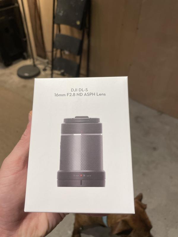 DJI DL 16mm lens Image #1