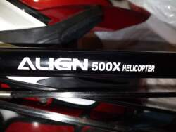 ALIGN TREX 500 helicopter Image