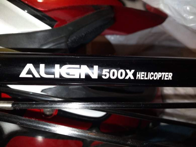 ALIGN TREX 500 helicopter Image #1