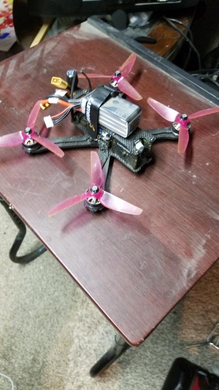 """QAV-R FPV Racing Quadcopter (5"""") RTF w/ DSMX RX Image #1"""