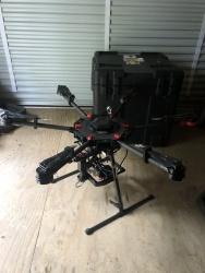 Matrice 600 with Flir Duo Pro R thermal camera Image