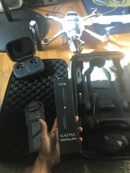 GoPro Karma Drone , Flewn about 4 times, don't need still in new condition everything included, stabilizer, go pro, water proof case for camera, extra propellors, all the cords, sd adapters. Brand New Drone man Image