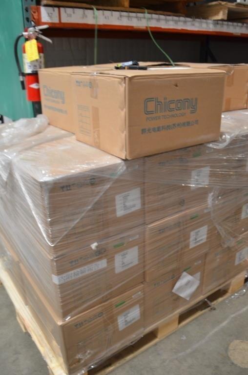 62 cases of Lily A15-105P1A 12.6V 7.5A 100-240V~2.5A (24pcs per case) AC adapter Image #1