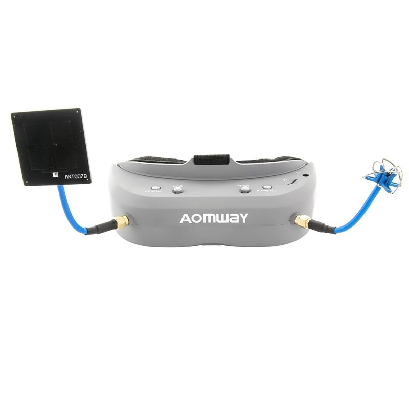 Aomway Commander V1 Fpv goggles and battery pack Image #1