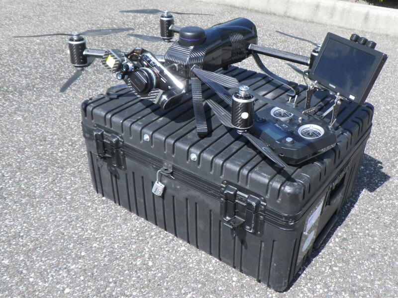 Interactive Aerial Legacy 1 industrial inspection UAV for sale Image #1