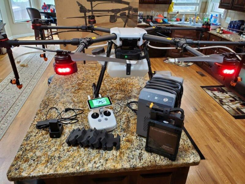 New Unboxed DJI Agras MG-1P Agricultural Drone Image #1