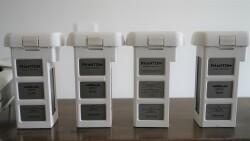 Used DJI Phantom Pro 3 - 4 batteries and backpack Image #3