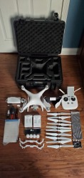DJI Phantom 4 Pro Drone with Accessories...Excellent condition Image