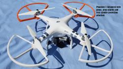 Used DJI Phantom 3 Adv drone, FPVLR Antenna, Nvidia Shield K1 Tablet, SKB military spec Case, 4 Battery Bundle Image #3