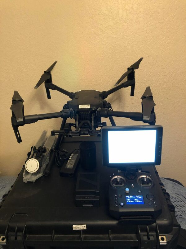 DJI  Matrice 210 V1 M210v1 M210 numerous accessories and low cycle batteries Image #1