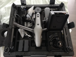 Good as new - comes with gimbal X5S lens controller and spare rotors - 2 new batteries Image