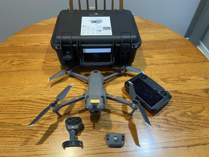 Mavic 2 Enterprise Dual Thermal and Visible Imaging with DJI Smart Controller Image #1