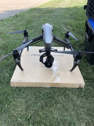 Inspire 2 with X5S Camera. Excellent condition. Pelican flight case Image