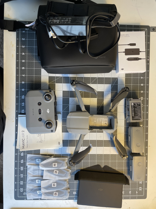 DJI Mavic Air 2 Drone with DJI Care Refresh plan & Fly More Combo + 6 filters Image #1