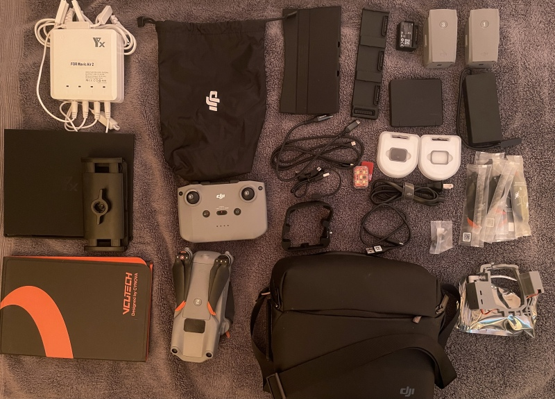 Mavic Air 2S *Fly More Combo* with *DJI Care* and Lots of Extras, Barely Flown! Image #1