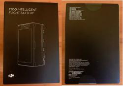 DJI TB60 intelligent flight batteries - NEW - FACTORY SEALED - UNOPENED (2 Batteries) Image
