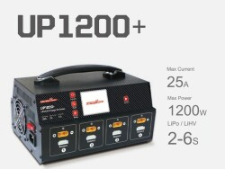 Ultra Power UP1200+ 1200W 25A 8 Channels 2-6S Battery UAV Charger Image