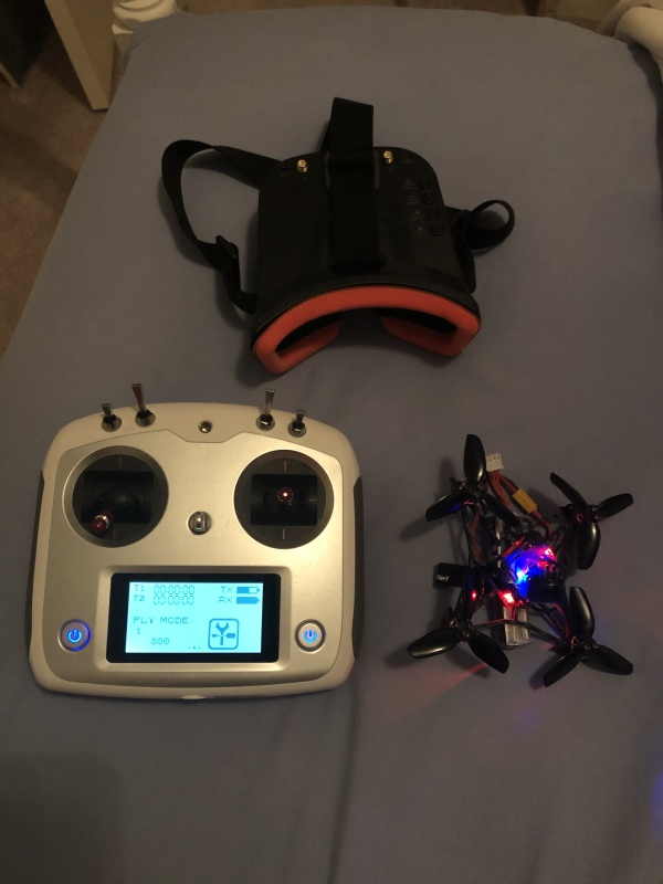 Happymodel larva x 2-3s fpv racing drone Image #1