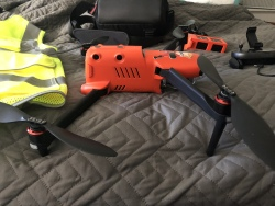 Evo Autel II - 2 test flights only. Perfect condition. Image #4