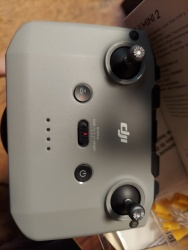 DJI Mini 2- Hit tree-Broken Gimbal. Comes with controller and battery. Image #3
