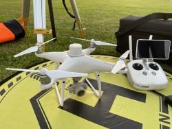 Phantom 4 RTK Quadcopter with D-RTK 2 GNSS Mobile Station Combo Image