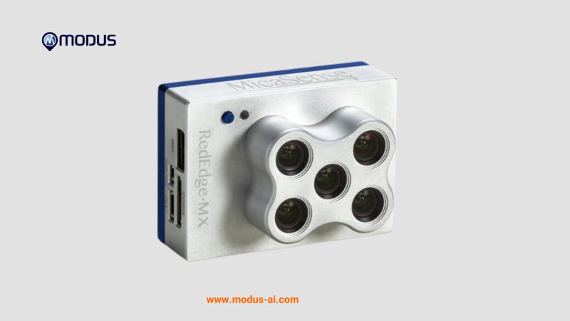 MicaSense RedEdge-MX Blue Kit + DJI Skyport MODUS-AI Rentals Image #1