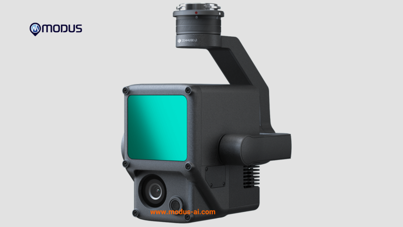 DJI Zenmuse L1 - Lidar + RGB Survey Camera MODUS-AI Rentals Image #1