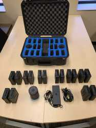 8 Pairs of DJI TB50 Batteries and Case Image