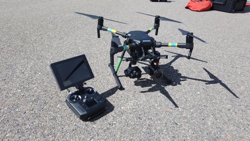 DJI Matrice M210 w/ Zenmuse Z30 & Zenmuse XT2 Flir Cameras - Professional Drone Image #1