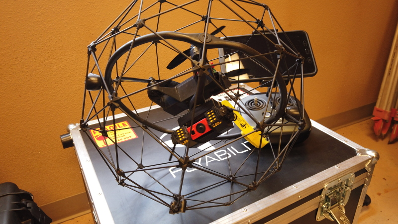 Flyability Elios - Professional Caged Drone for Internal Spaces and Inspections Image #1