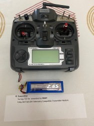 FPV Drone Lot (4) Drones, FPV Goggles, Frsky Transmitter plus Extra's Image #4