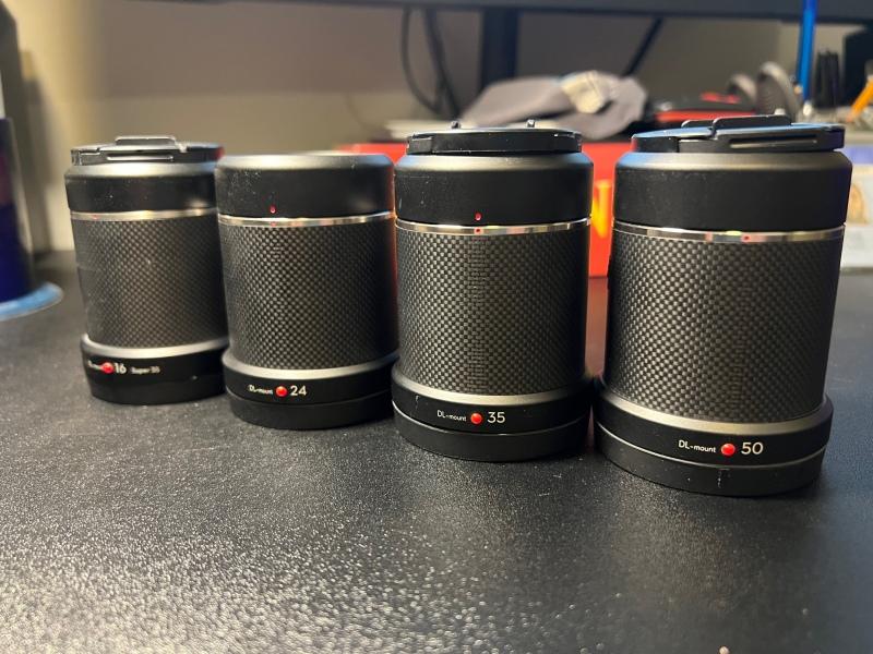 X7 w/ full lens set, X5S Image #1