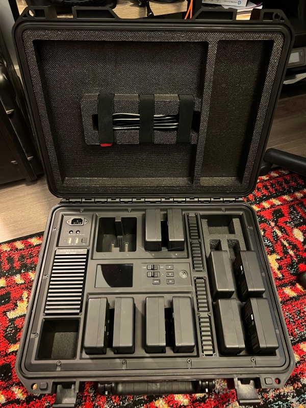 Inspire 2 TB50 Batteries and DJI Charging Case Image #1