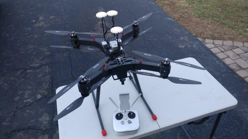 xFOLD SPY x8 Heavy Lift Drone UAV Image #1