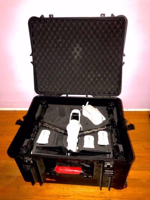 DJI Inspire 1 drone X5R Raw Camera + Free OSMO + Many Accessories Image