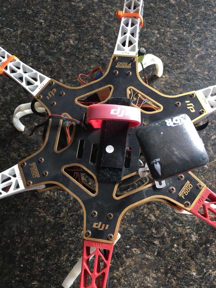 DJI Flamewheel 550 Drone Image