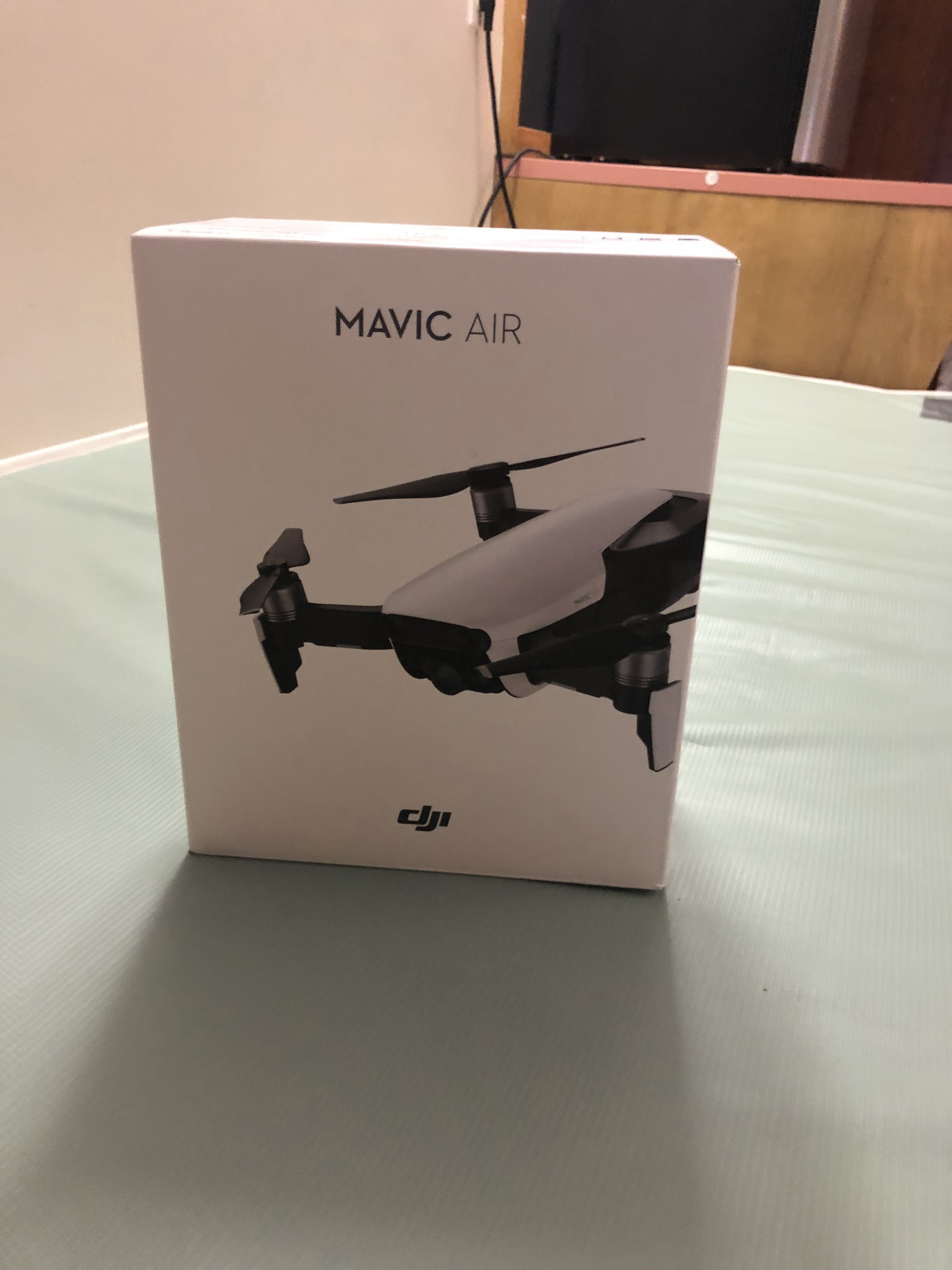 Mavic Air Flamed Red Brand New Open boxed with fly more combo and one extra battery Image