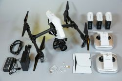 DJI Inspire 1 v2.0 with Zenmuse X5 4K Camera, 3-Axis Gimbal and rolling case Image
