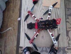 Custom 3d robotics quad Image