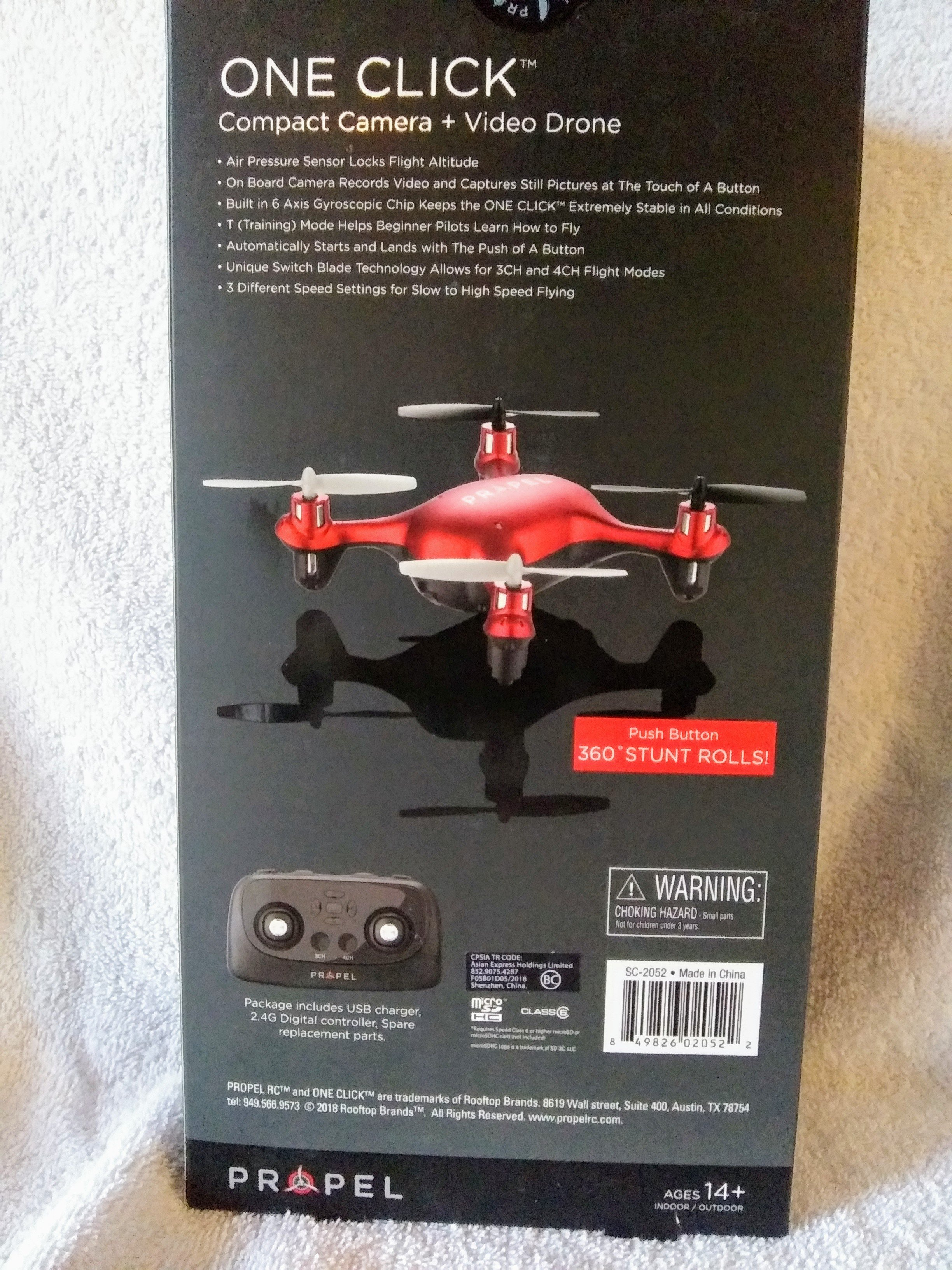 One Click Camera and Video Drone Image #3
