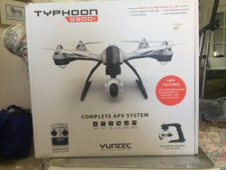 Yuneek Typhoon 500+ APV Package Ready to Fly for Fun or Professional Use Image