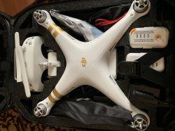 New barely flown DJI Phantom Pro 3 with pro starter kit! Image
