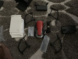 DJI Mavic Air - Flame Red  EXCELLENT CONDITION Image