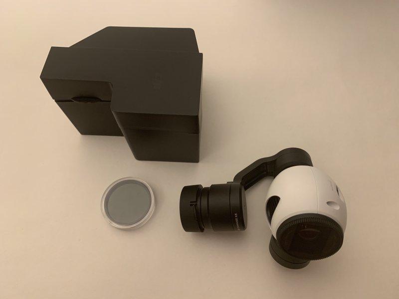 DJI X3 Gimbaled Camera Image #1