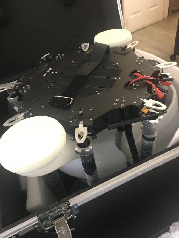 AG-M8S 2.0 Seed Spreader COMBO UAV (20kg) Image