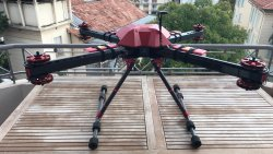 Vader X8 Heavy Lift Drone Image
