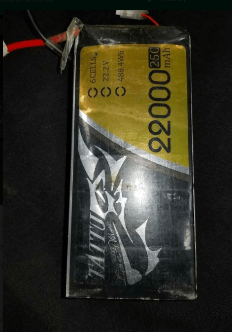 Tattu 22000mAh 6s battery Image